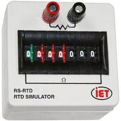 RS-RTD- 저항 RTD 시뮬레이터