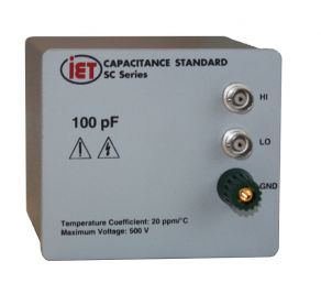 SCA-100pF 커패시턴스 표준