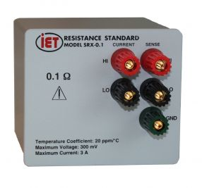 AC에서 사용하도록 설계된 SRAC 표준 저항기